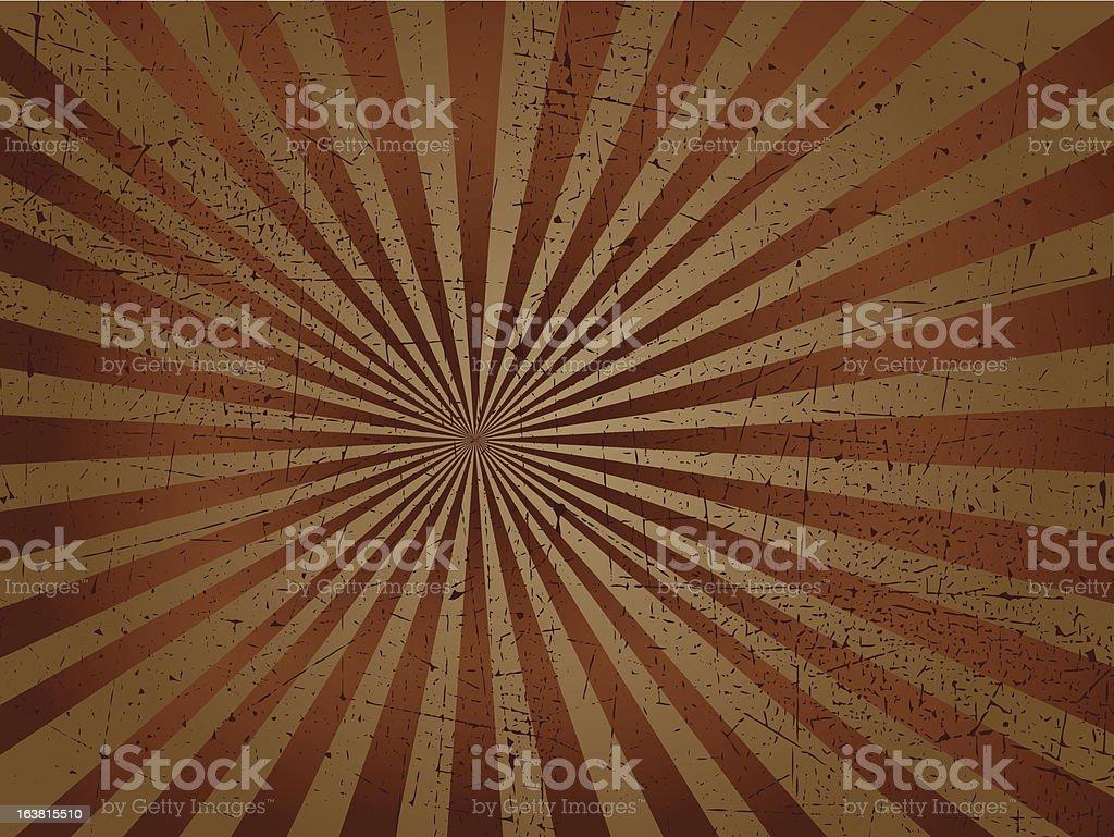 Grunge starburst royalty-free stock vector art
