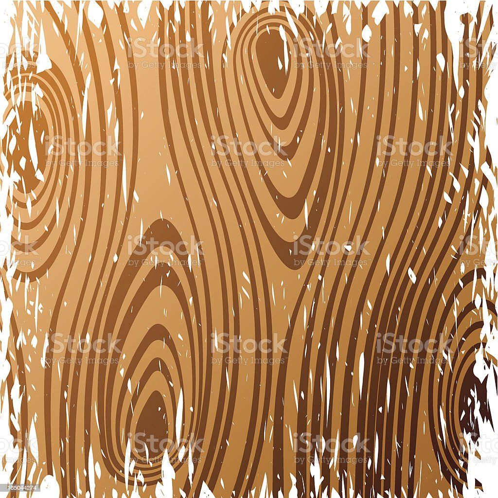 Grunge wood panel royalty-free stock vector art