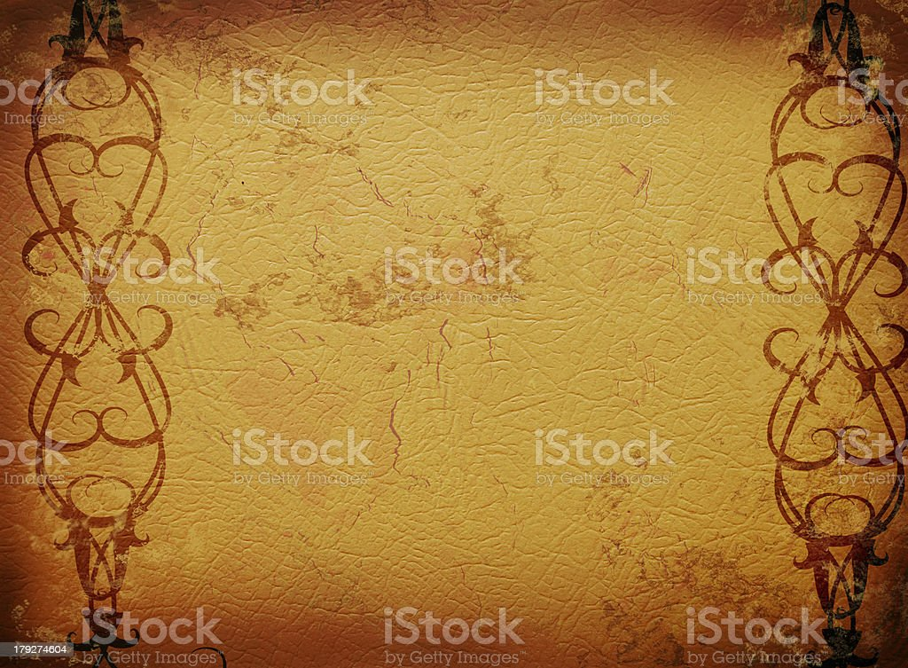 Grungy frame royalty-free stock vector art