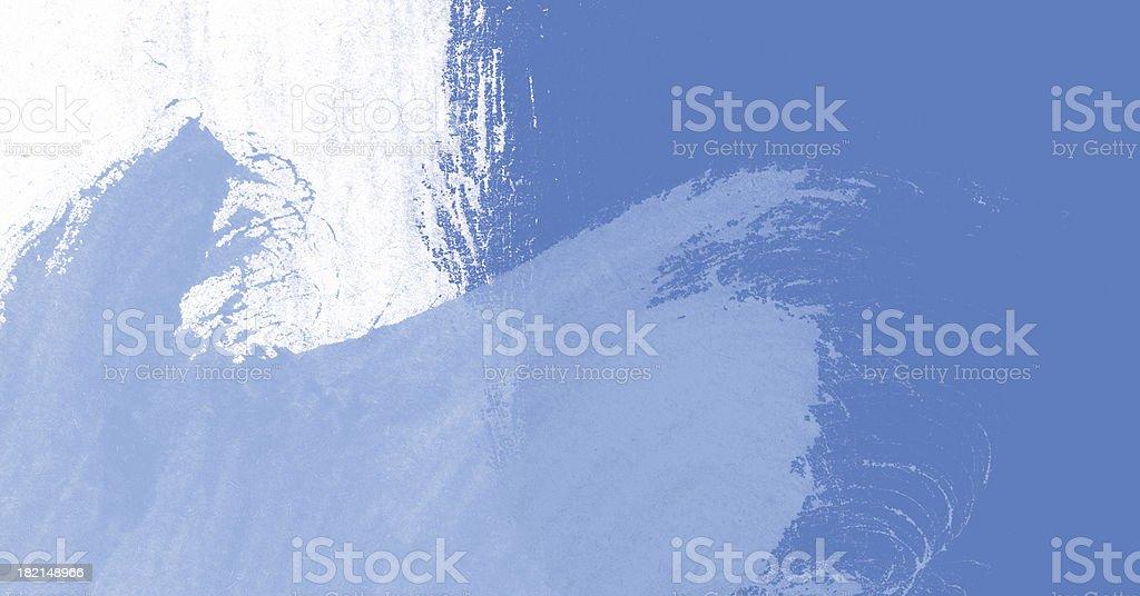 XXL Grungy wallpaper blue waves royalty-free stock vector art