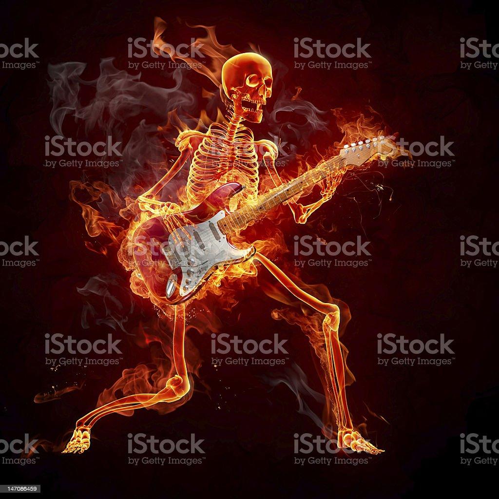 Guitarist royalty-free stock vector art