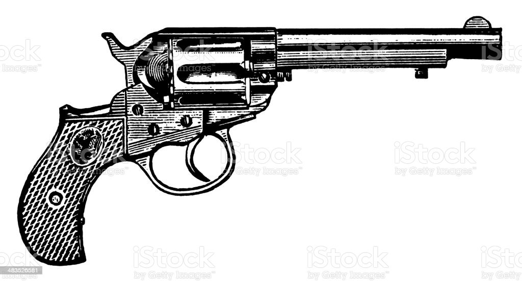 Gun royalty-free stock vector art