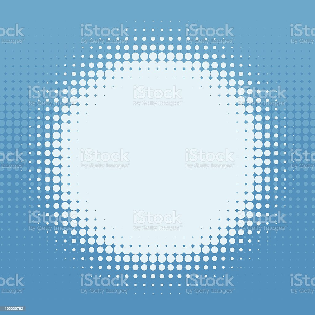 Halftone Screen royalty-free stock vector art