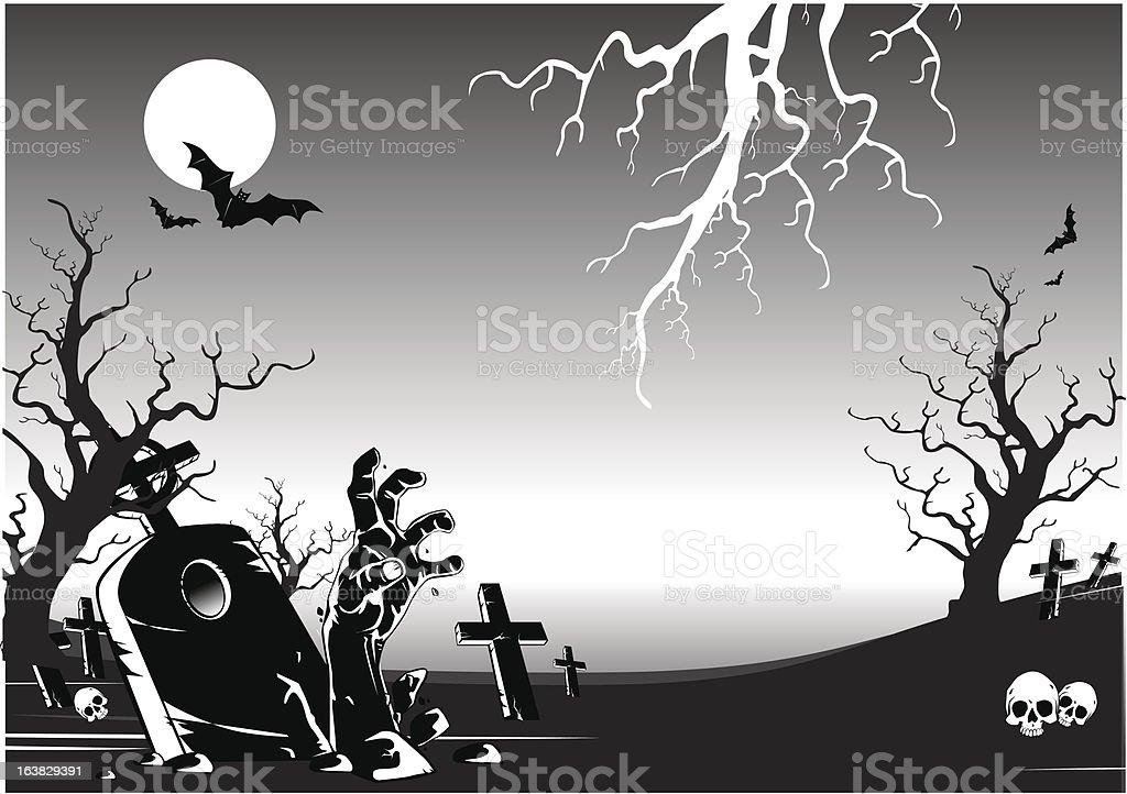 halloween backgroud royalty-free stock vector art