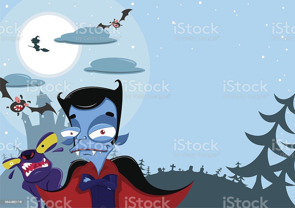 Halloween background royalty-free stock vector art