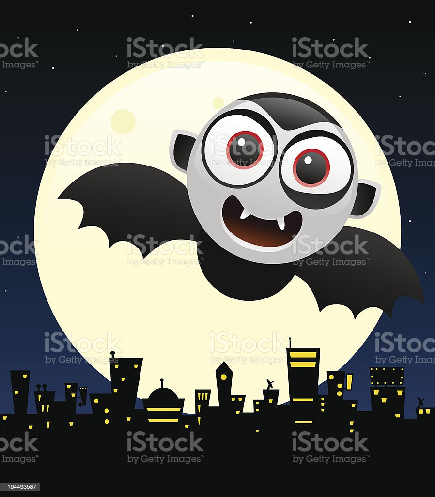 halloween concept design with dracula royalty-free stock vector art