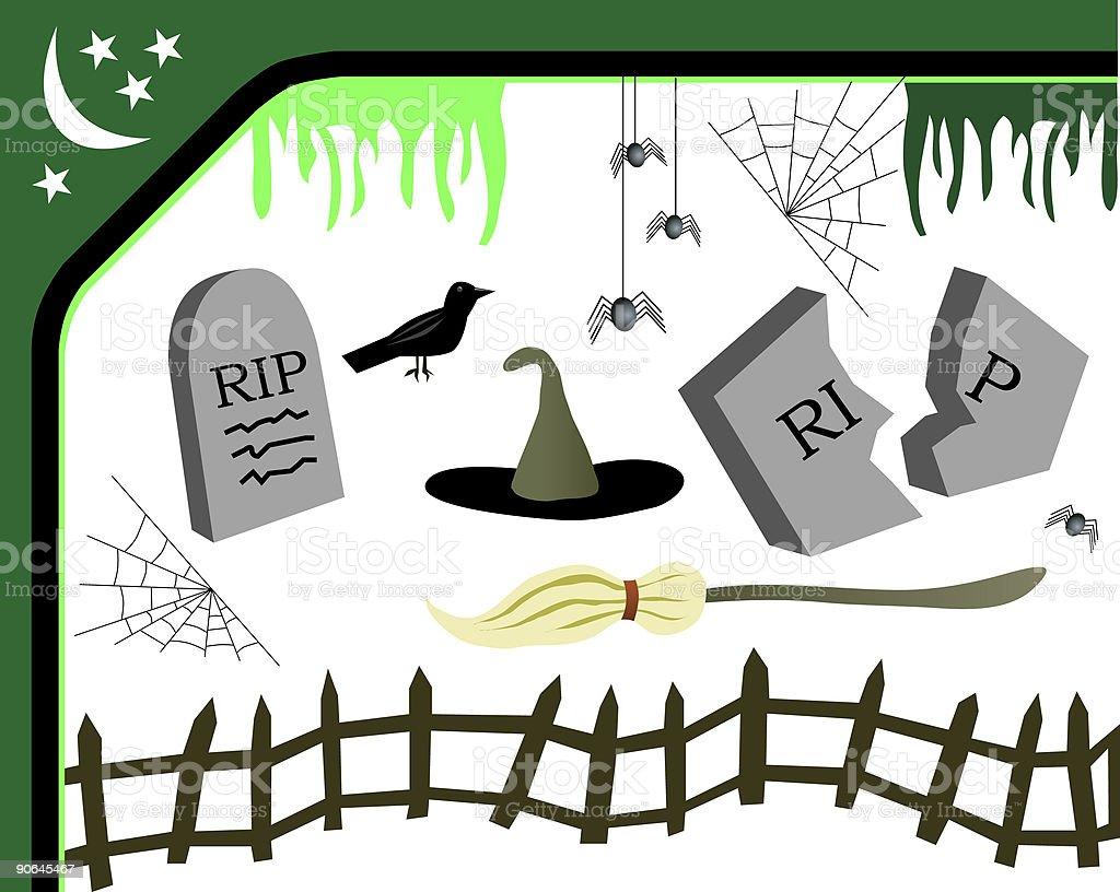 Halloween Elements - Vector royalty-free stock vector art