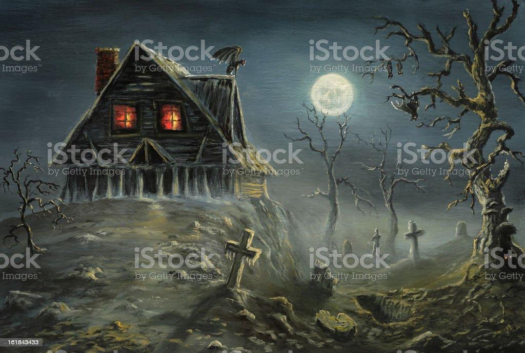 Halloween Horror vector art illustration