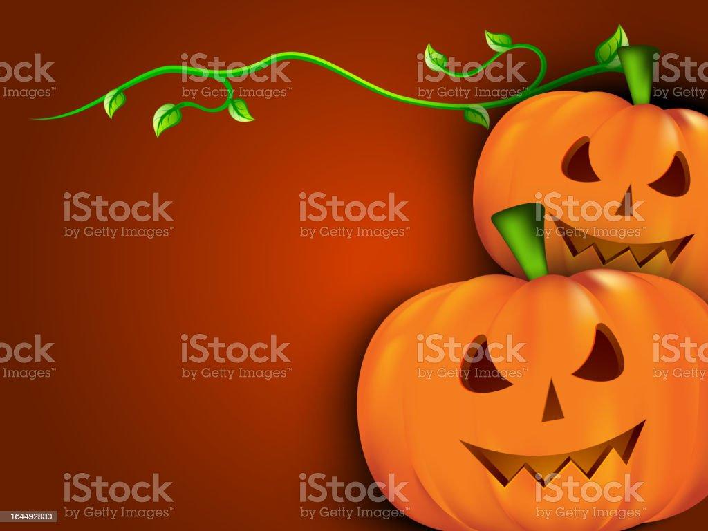 Halloween pumpkin. royalty-free stock vector art
