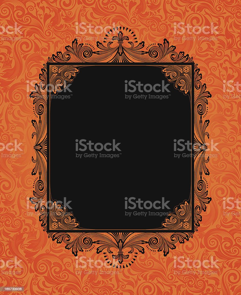 Halloween Sign royalty-free stock vector art