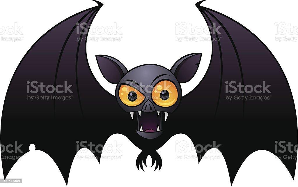 Halloween Vampire Bat vector art illustration