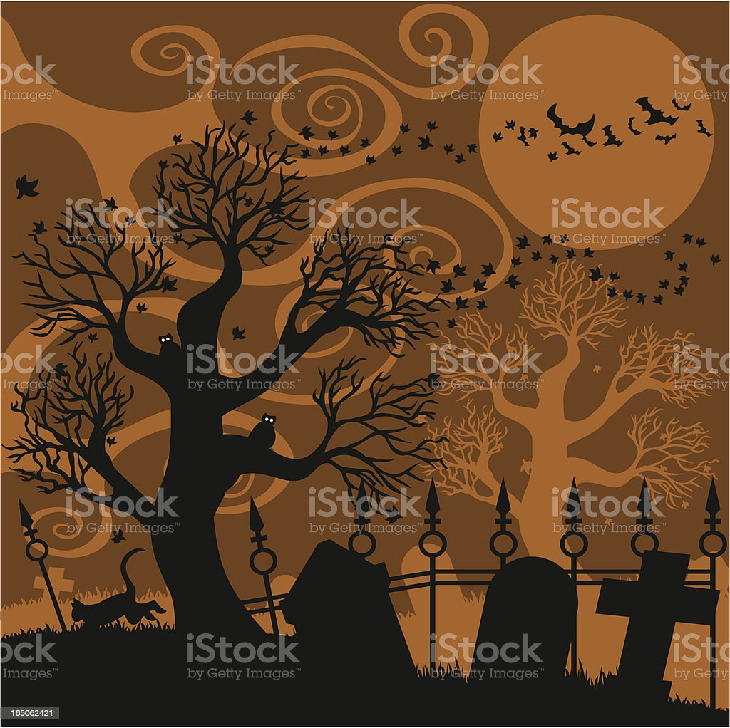 Hallows Eve royalty-free stock vector art