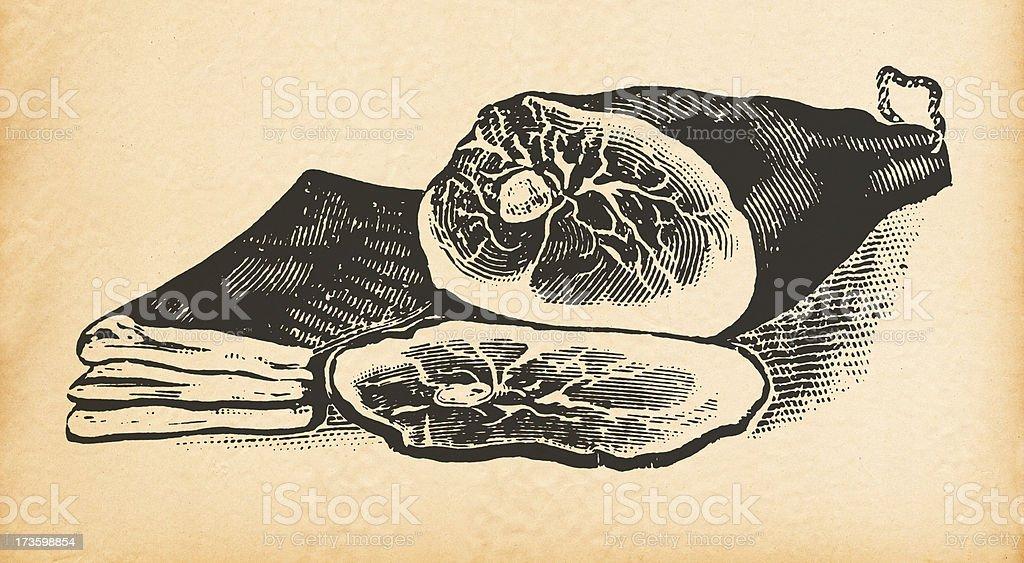 Ham royalty-free stock vector art
