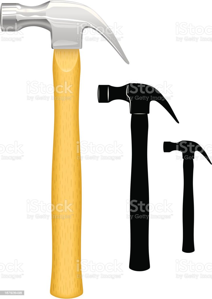 Hammer royalty-free stock vector art