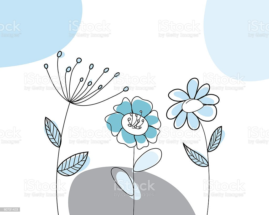 hand drawn card royalty-free stock vector art