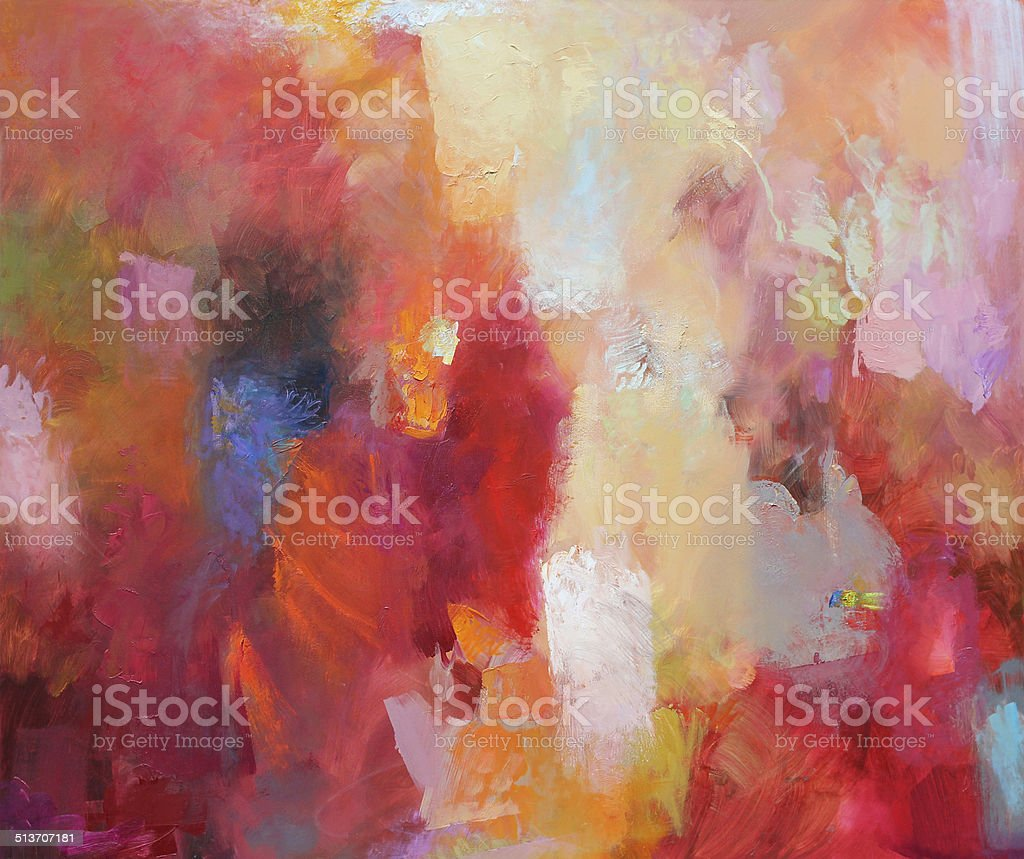 hand painted abstract art vector art illustration