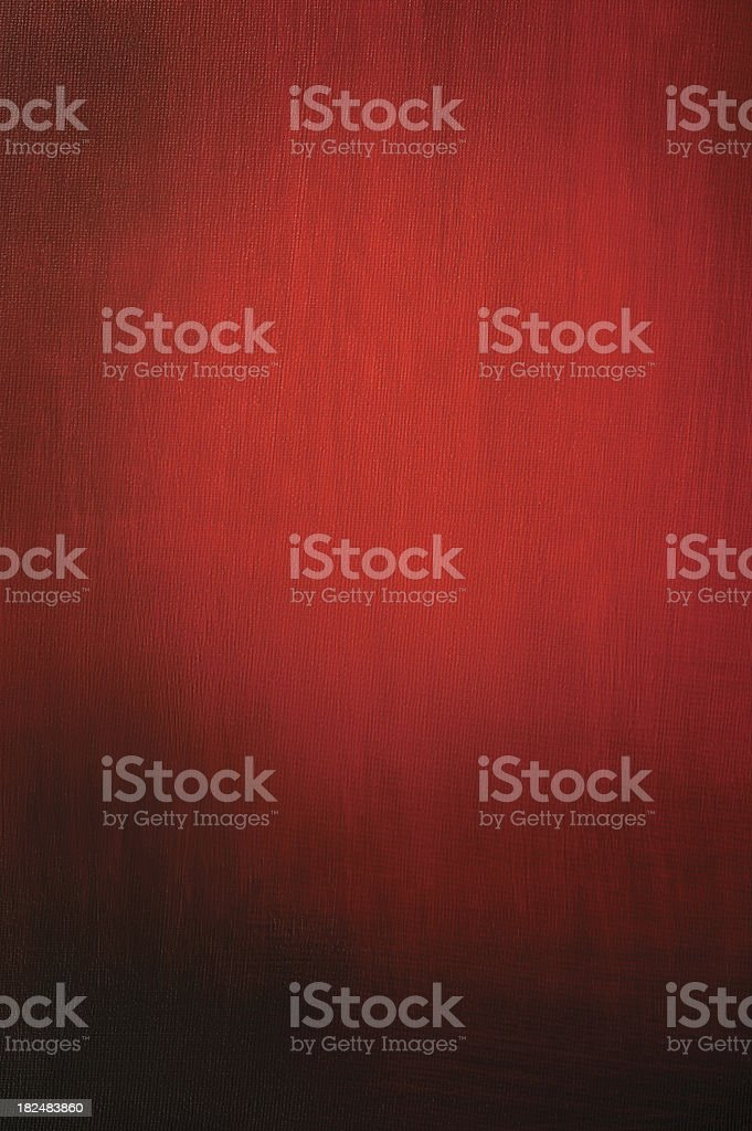 Hand Painted Red Background vector art illustration