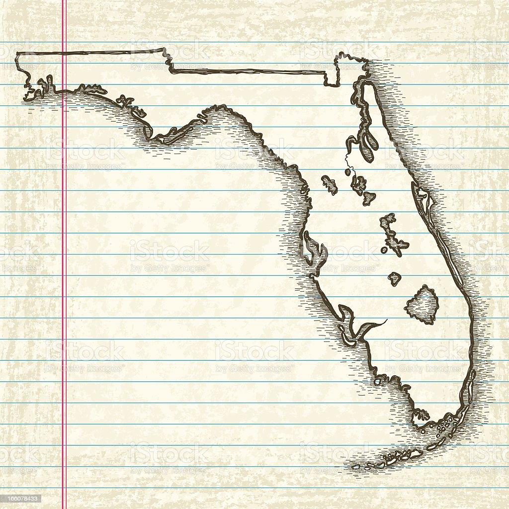 LC Rd Grade Thinkers Maps US And Canada Printable Blank Maps Key - Florida keys map art