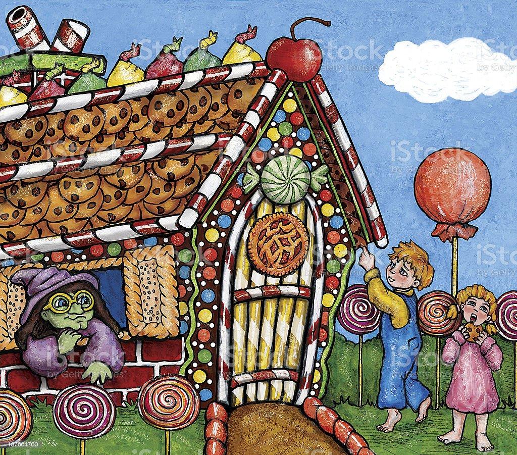 Hansel gretel illustration stock vector art 187664700 istock - Hansel home ...