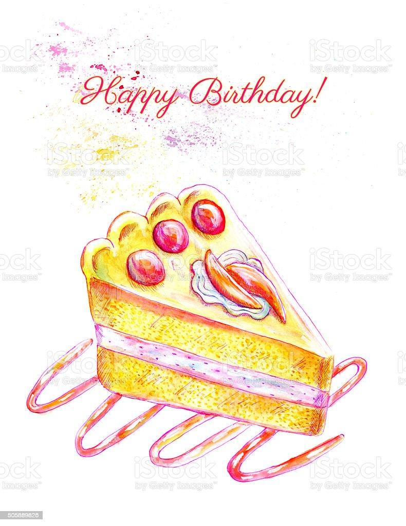 Что нарисовать на день рождения? Как нарисовать открытку 47