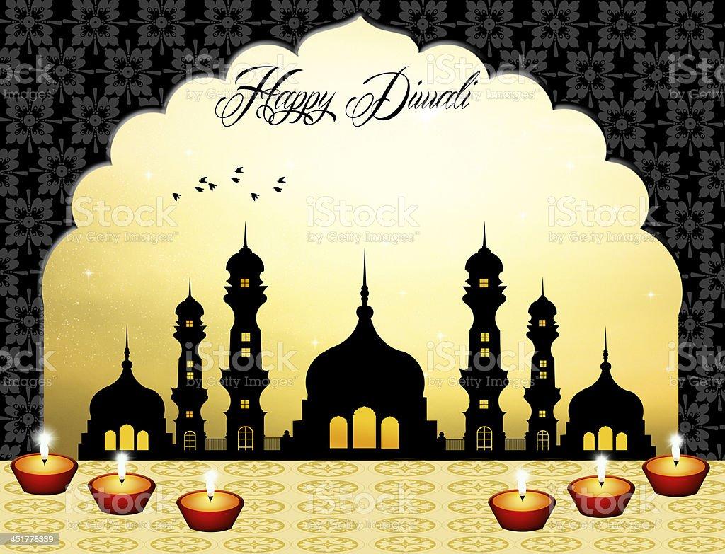 Happy Diwali royalty-free stock vector art