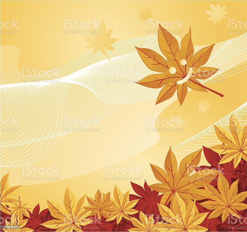 Happy Fall royalty-free stock vector art