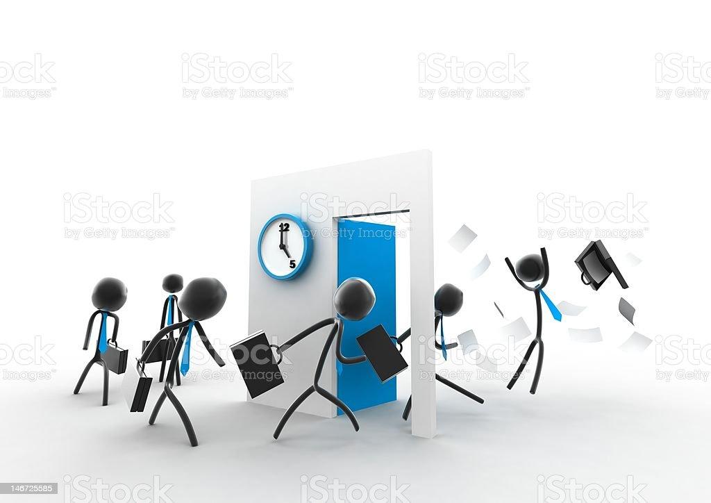 Happy hour royalty-free stock vector art