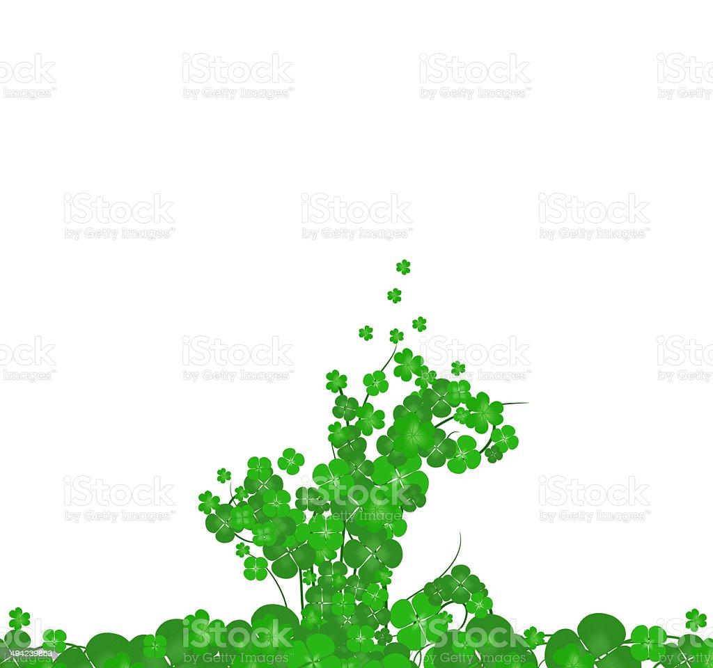 Happy Patricks Day background vector art illustration
