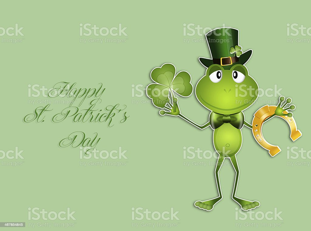 Happy St.Patrick's Day royalty-free stock vector art