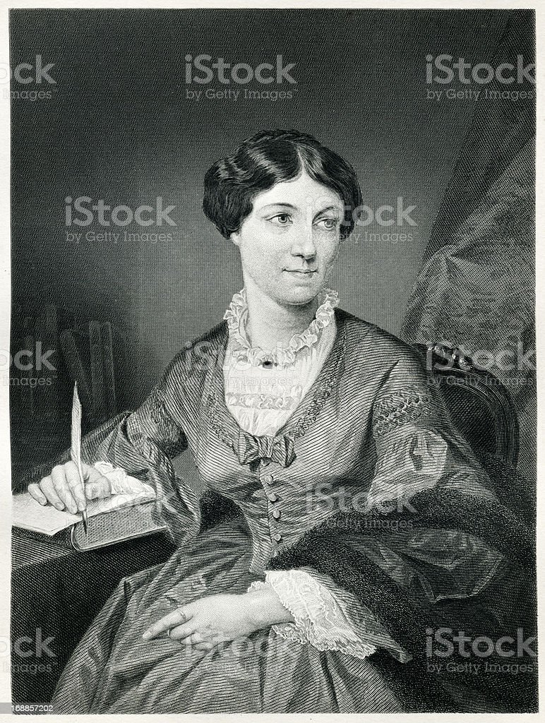 Harriet Martineau royalty-free stock vector art