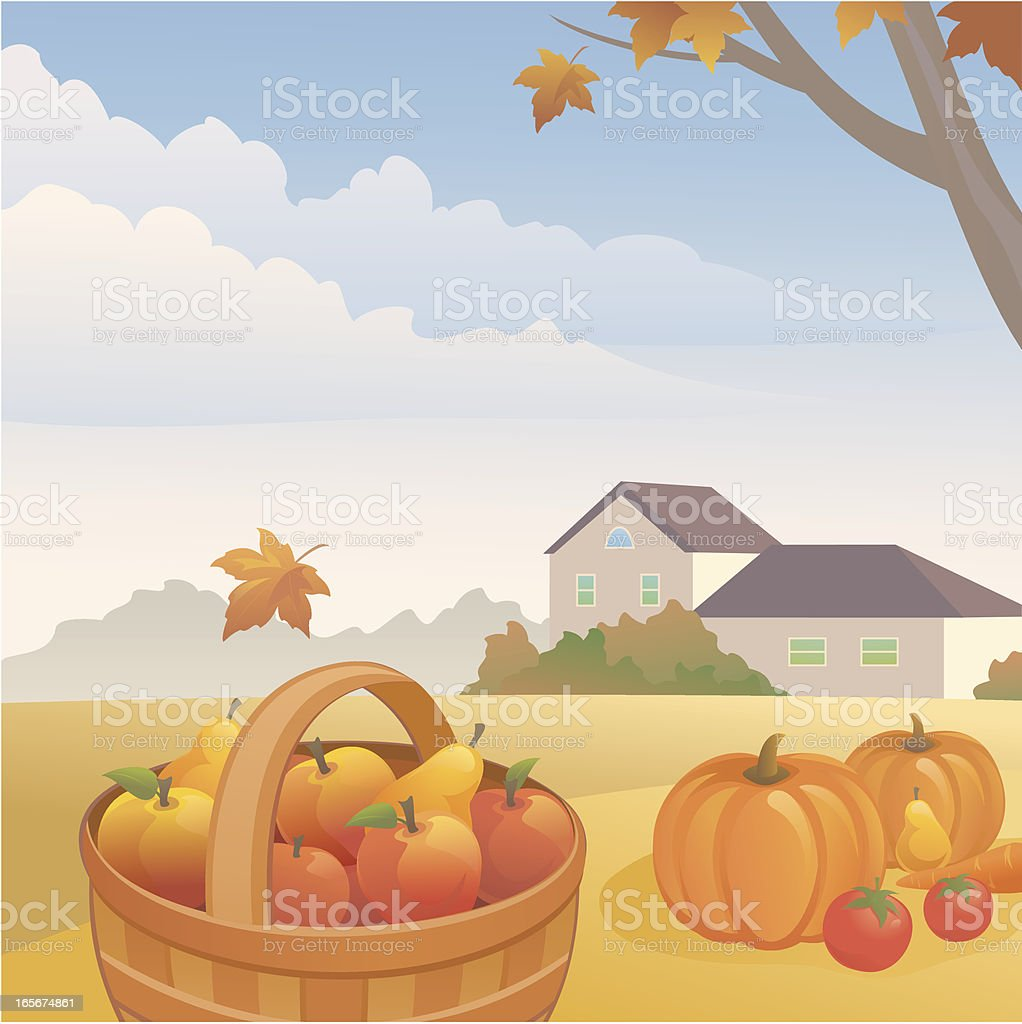 Harvest royalty-free stock vector art