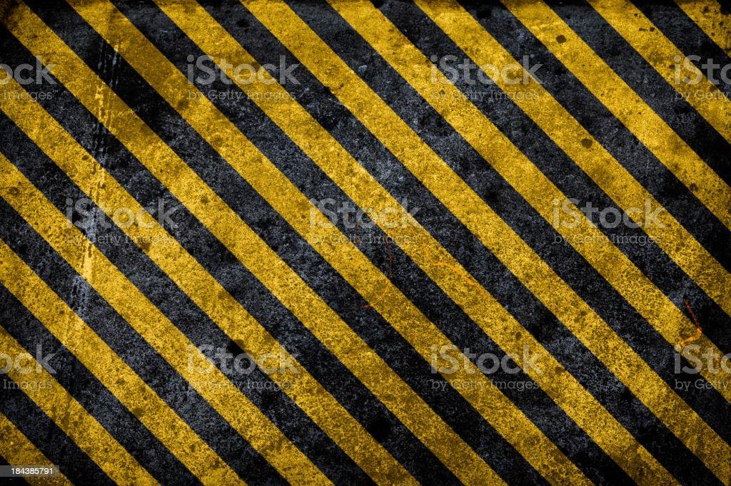 Hazard background vector art illustration