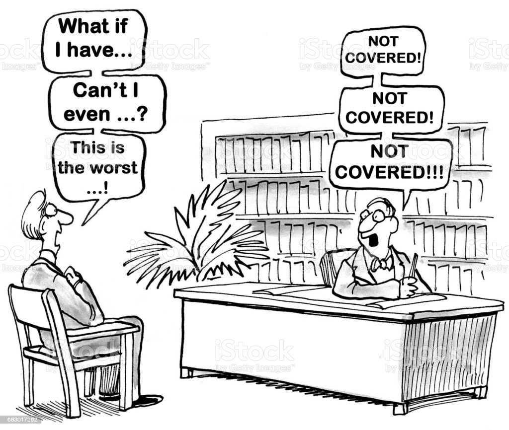 Health Insurance vector art illustration