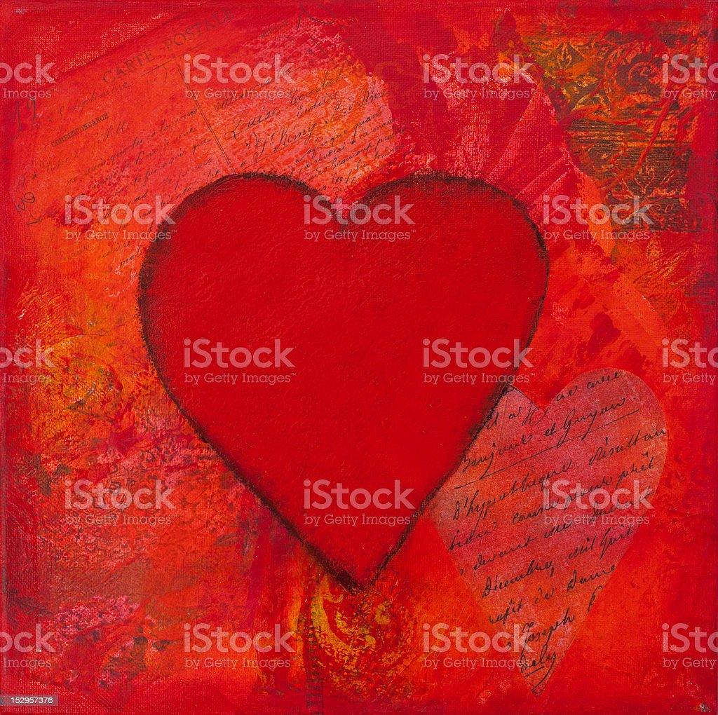 heart artwork royalty-free stock vector art