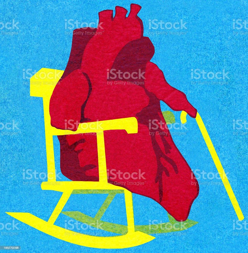 Heart - Cardiac Diseases royalty-free stock vector art