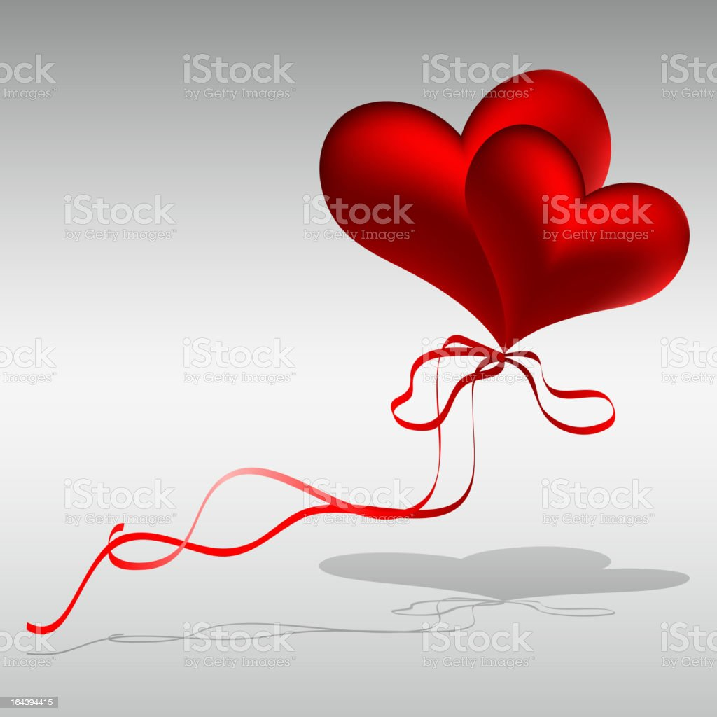 Hearts. vector art illustration
