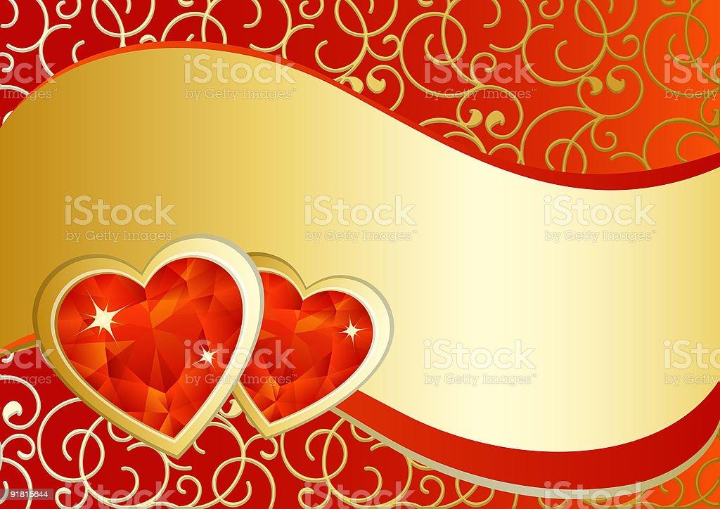 Hearts royalty-free stock vector art