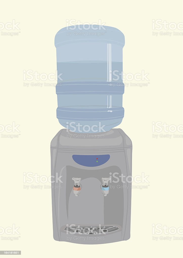 Heater for water vector art illustration