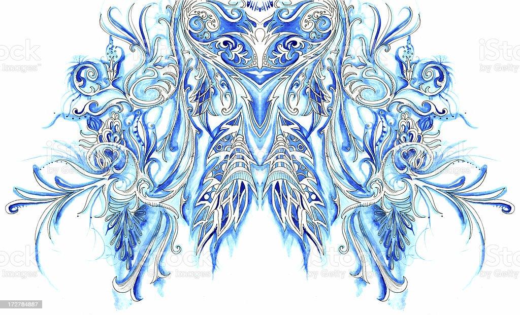 Heavenly vision royalty-free stock vector art