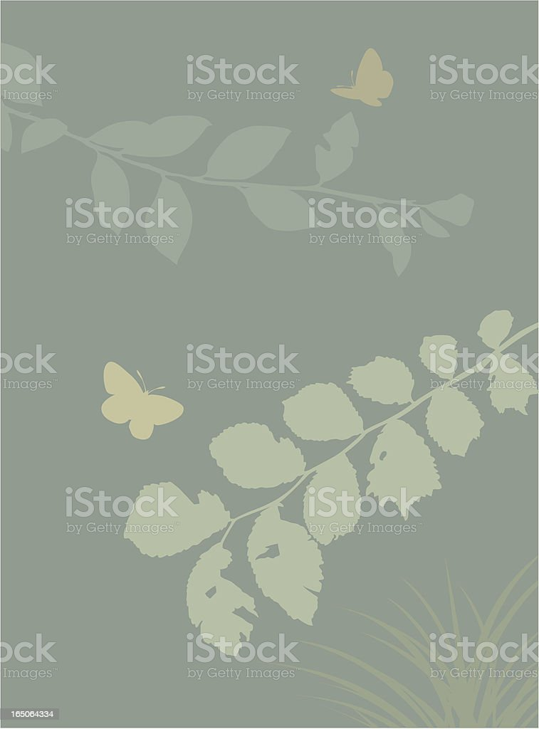 Hedgerow royalty-free stock vector art