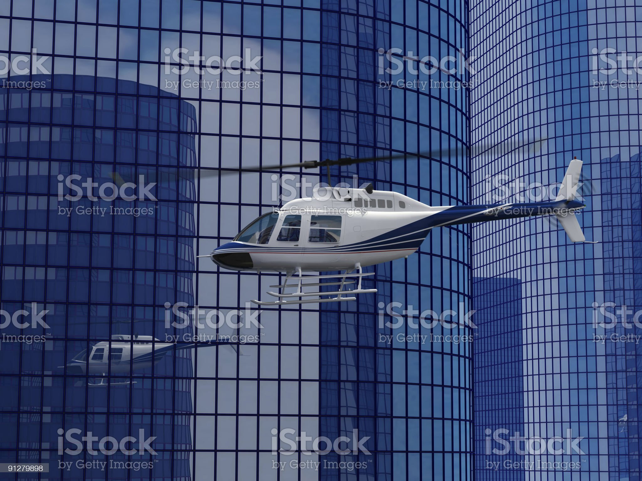 helicopter flight royalty-free stock vector art