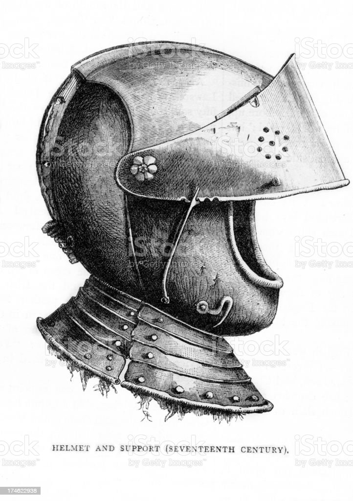 Helmet royalty-free stock vector art