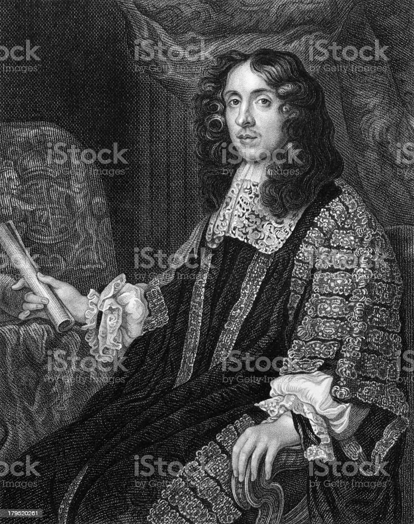 Heneage Finch, 1st Earl of Nottingham vector art illustration