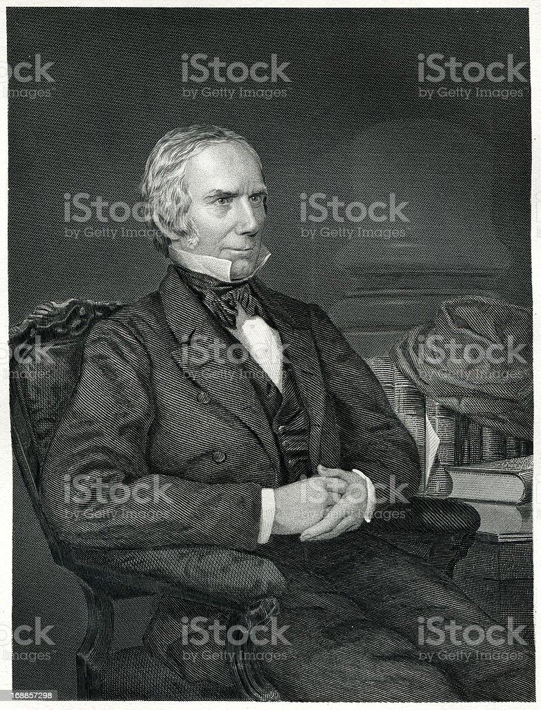 Henry Clay vector art illustration
