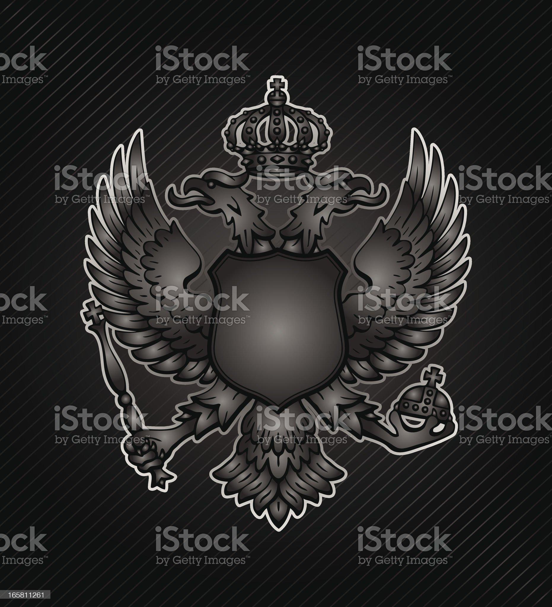 Heraldic Seal royalty-free stock vector art