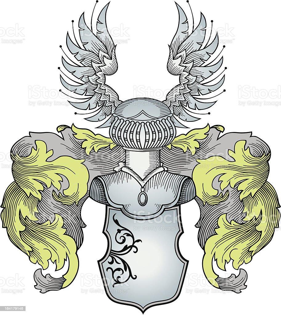 heraldic vector royalty-free stock vector art