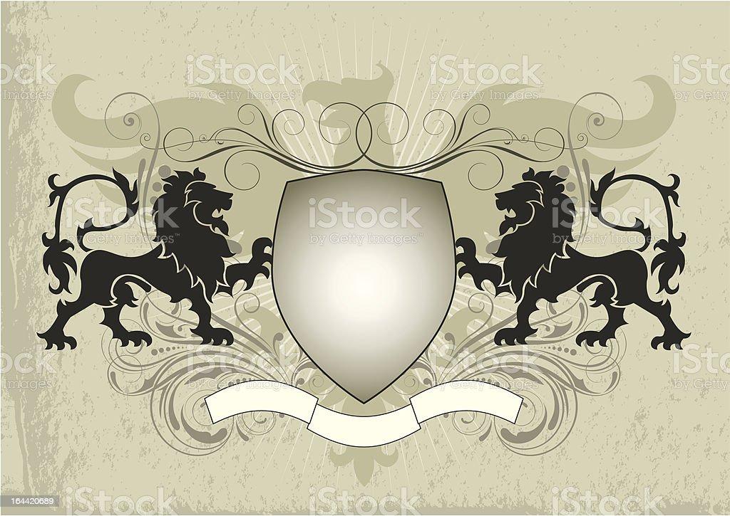 Heraldry royalty-free stock vector art