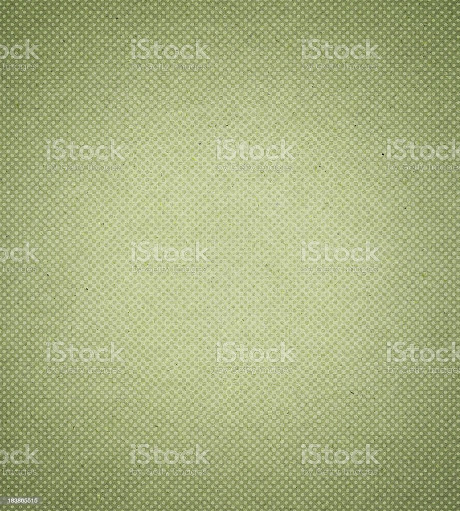 High resolution green antique paper with halftone vector art illustration