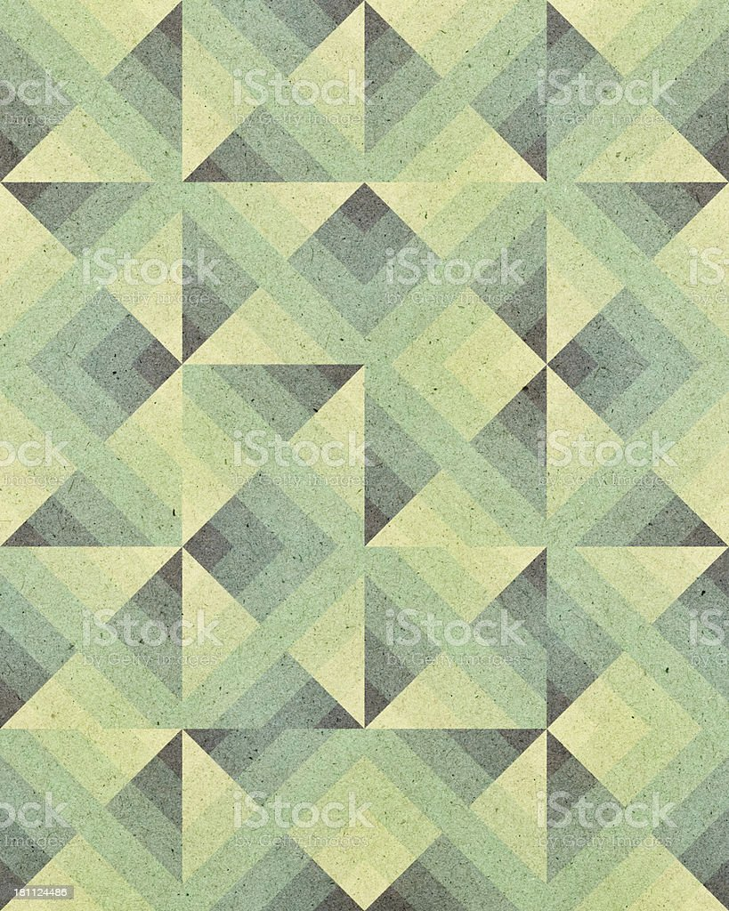 High resolution paper with Art Deco geometric pattern vector art illustration