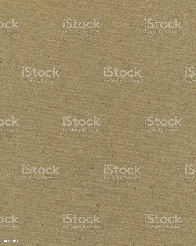 High resolution recycled cardboard vector art illustration